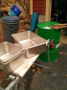 Homemade Maple Syrup Evaporator (V1) - Rob's Blog